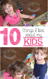 10 Things I Love About My Kids