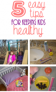 5 Easy Tips for Keeping Kids Healthy
