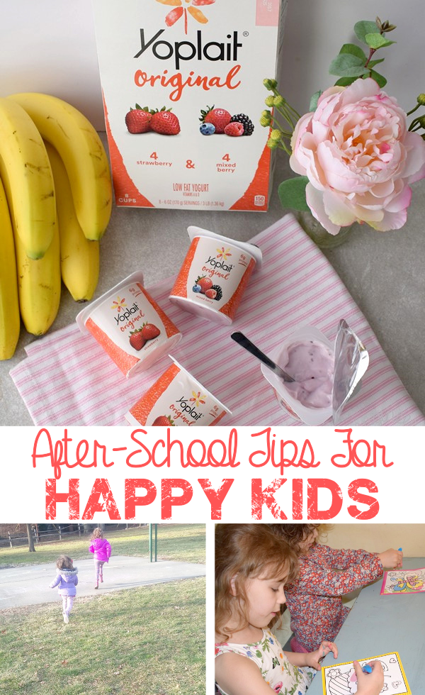 After-School Tips for Happy Kids