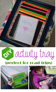 DIY Activity Tray