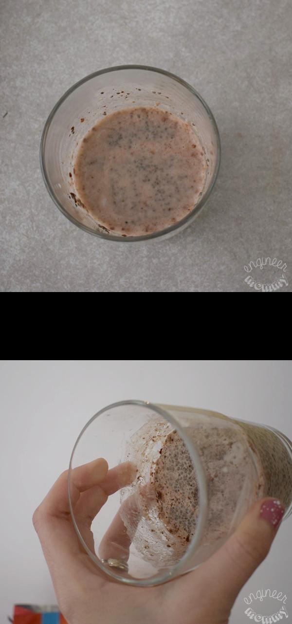 Chocolate, Coffee & Chia Seed Parfait