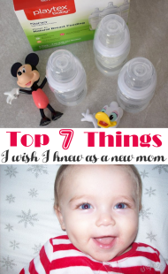 Top 7 Things I Wish I Knew As A New Mom