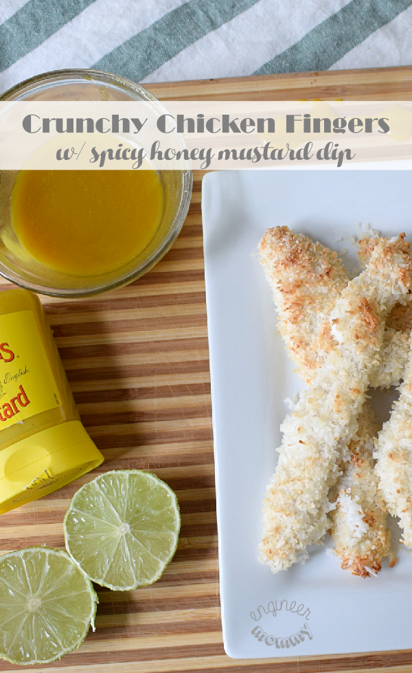 Chicken Fingers w/ Spicy Honey Mustard Dip