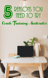 5 Reasons You Need To Try Coach Training Accelerator