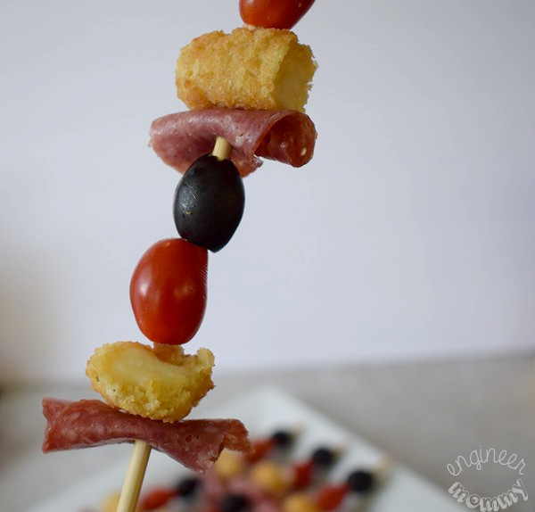 Cheese Stick Skewers