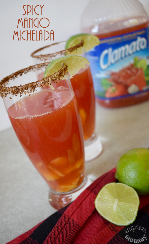 Spicy Mango Michelada Drink