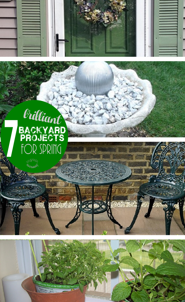 7 Brilliant Backyard Projects For Spring