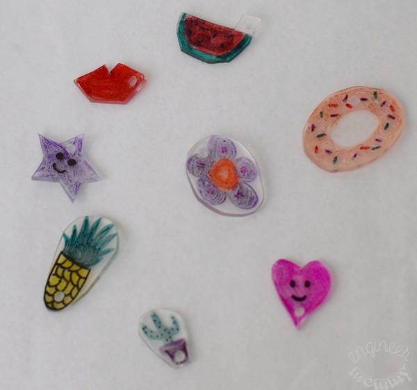 DIY Shrink Plastic Charms