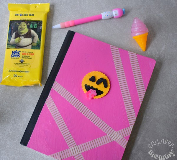 DIY 3-D Emoji Notebook
