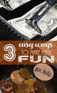 3 Easy Ways to Make Math Fun