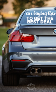 Car Buying Tips To Get The Best Deal