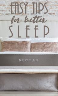 Easy Tips for Better Sleep