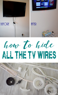 Hanging a Flat Screen on Wall: How to Hide All Wires