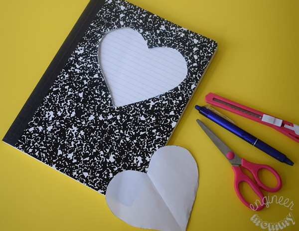 DIY Notebook with Slime Pocket