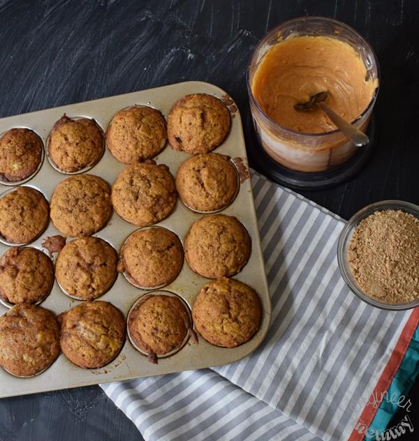 Pumpkin Snickerdoodle Cupcakes