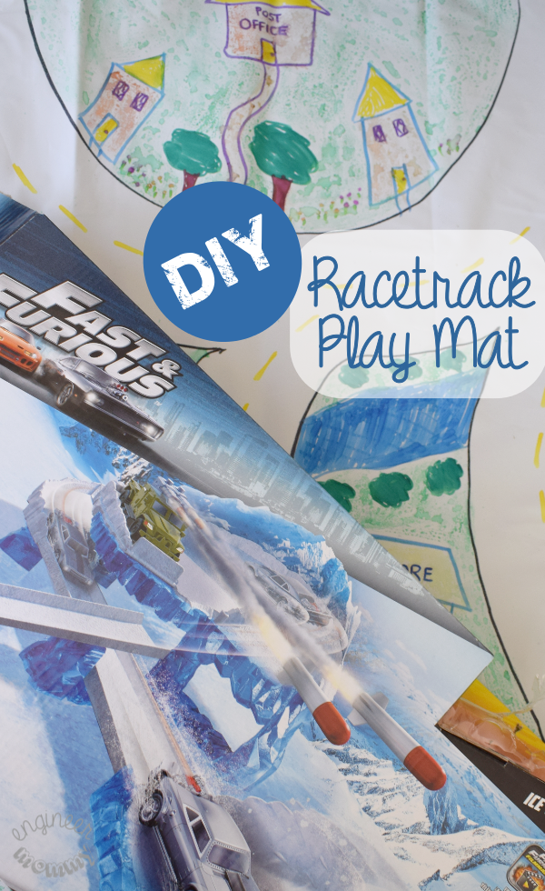 DIY Racetrack Play Mat