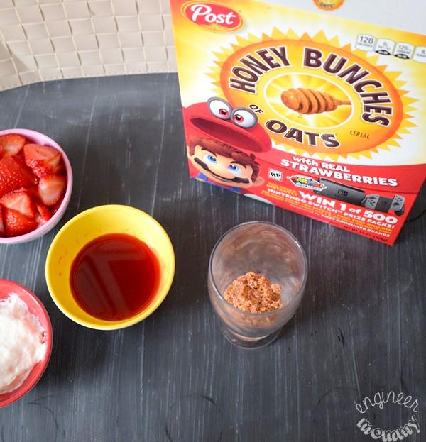 Layered Strawberry Parfaits
