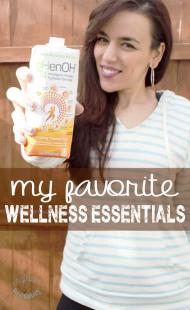 My Favorite Wellness Essentials