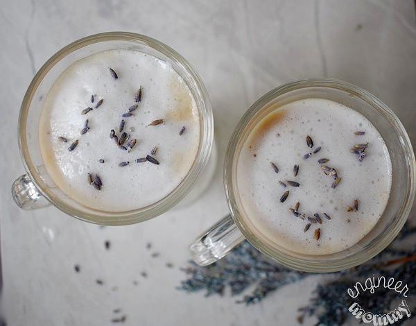 Decaf Lavender Lattes