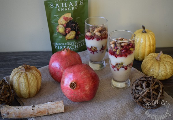 Pomegranate Cashew Milk Parfait