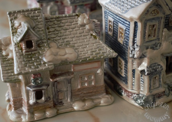 A Christmas Village Re-Imagined