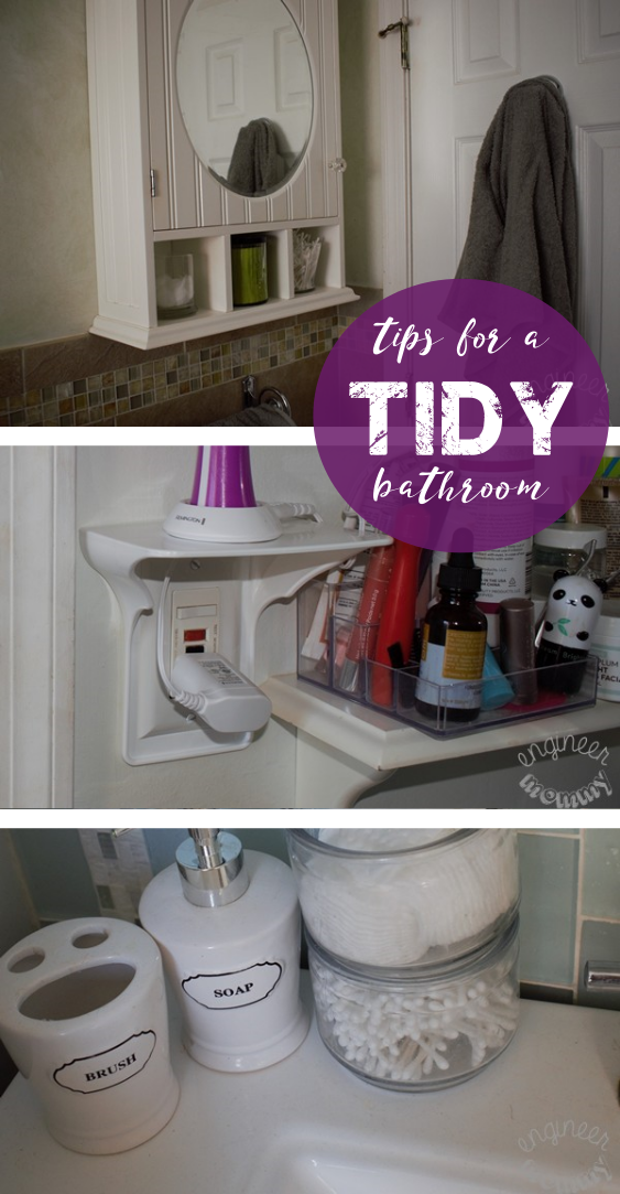 Easy Tips for a Clean & Tidy Bathroom
