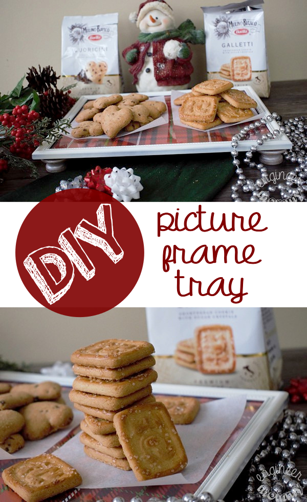 DIY Picture Frame Tray