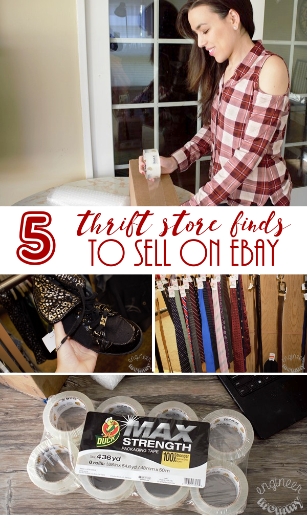 5 Thrift Store Finds to Sell on eBay