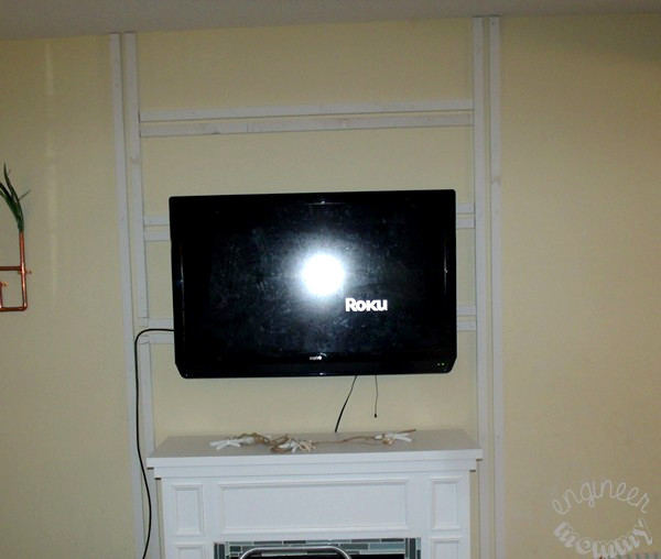 How to Hide Those Pesky TV Cables - Engineer Mommy