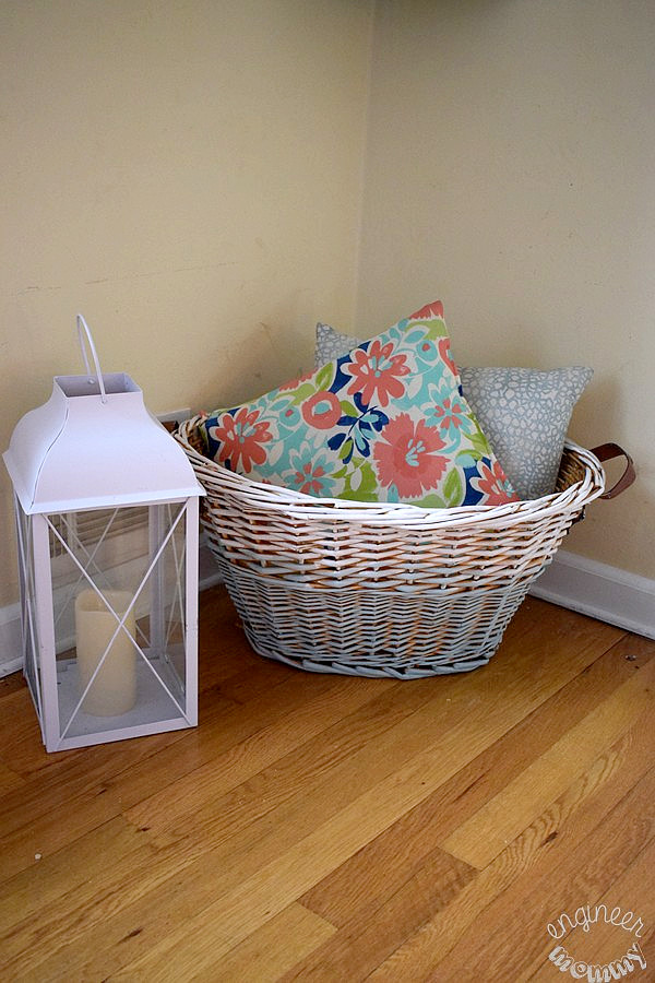 DIY Painted Basket