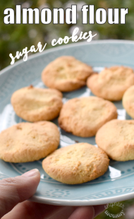 Almond Flour Sugar Cookies (Low Carb)