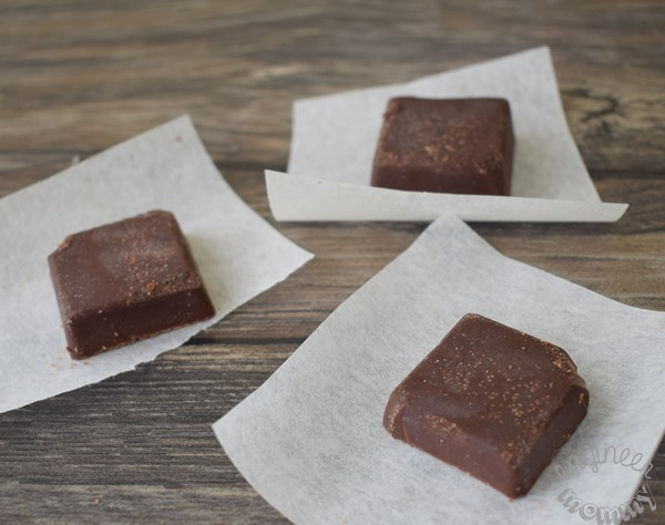 3-Ingredient Coconut Oil Chocolate Fudge