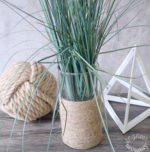 DIY Dollar Tree Twine Vase