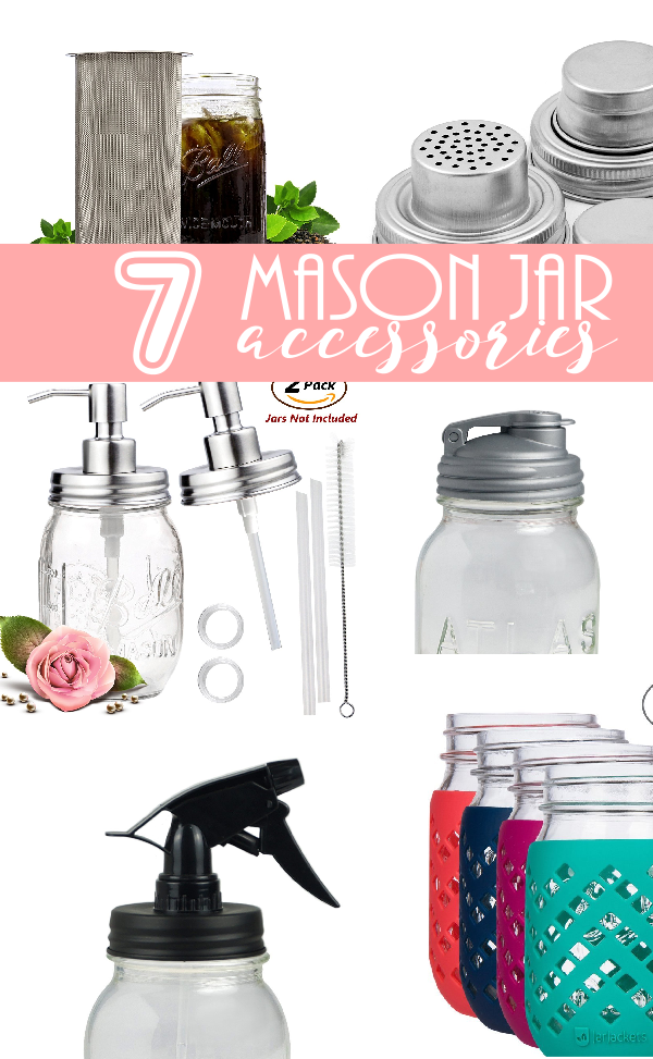 7 Mason Jar Accessories | Canning Jar Add Ons