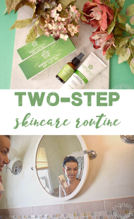 Simple 2-Step Skincare Routine