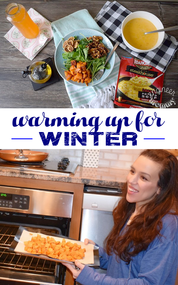 Warming up during winter