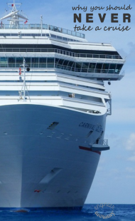 7 Reasons You Should Never Take a Cruise