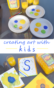 Easy Tips for Creating Art with Kids