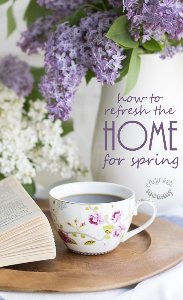 How to Refresh the Home for Spring