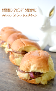 Hatfield Smoky Balsamic Pork Loin Sliders