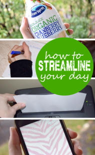 How to Streamline your Day