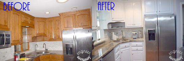 Painting our Kitchen Cabinets: Lessons Learned