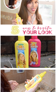 5 Ways to Brighten Your Look w/ SunIn Natural Hair Highlights