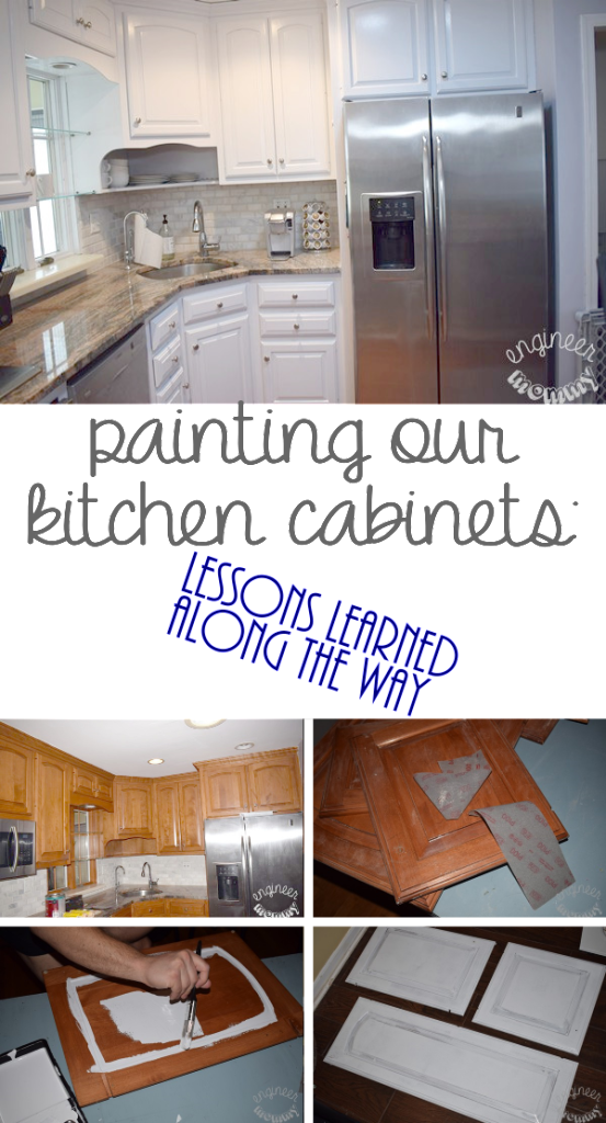 Painting our Kitchen Cabinets: Lessons Learned Along the Way
