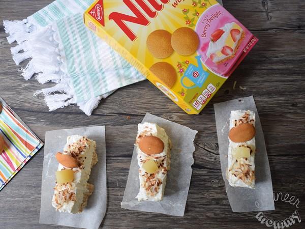 No-Bake Tropical Cheesecake Bars