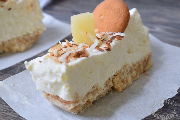 No-Bake Tropical Cheesecake Bars