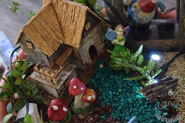 DIY Magical Illuminated Fairy Garden