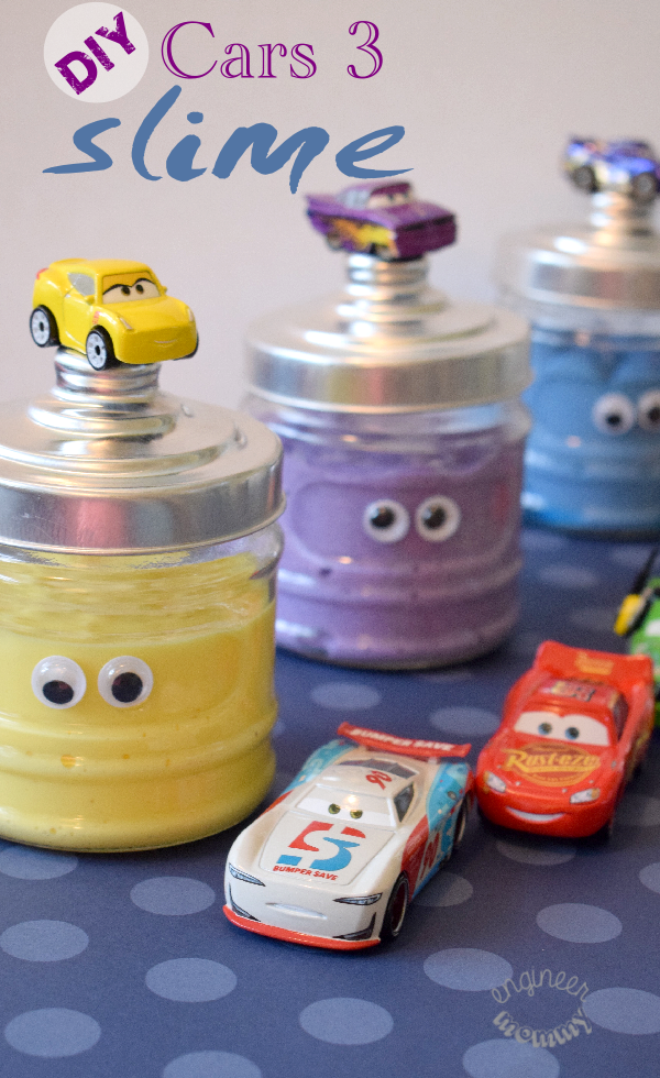 DIY Cars 3 Slime