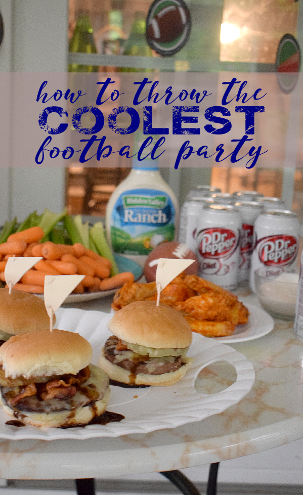 How to Throw the Coolest Football Party