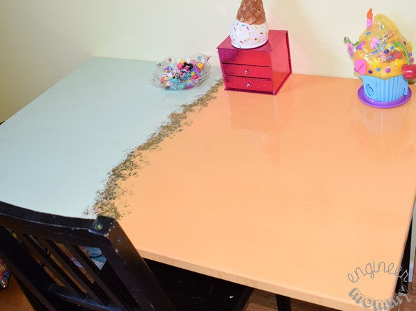 DIY Agate Stone Desk